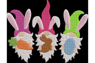 Easter Gnomes Easter Embroidery Design By Wingsical Whims Designs