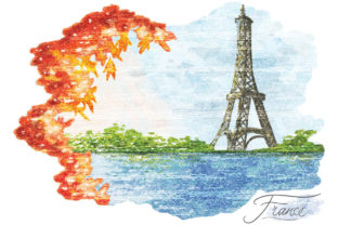 France Painting Graphic Graphic Templates By naemislamcmt