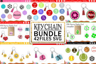 Keychain Huge Bundle | Keyring SVG Vol.1 Graphic Crafts By Cute files