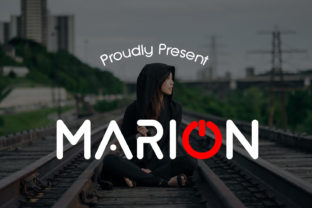 Print on Demand: Marion Display Font By da_only_aan