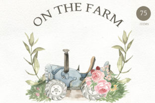 Print on Demand: On the Farm Graphic Illustrations By laffresco04
