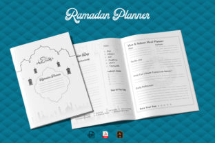Ramadan Planner & Journal KDP Interior Graphic KDP Interiors By Design invention
