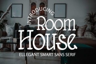 Print on Demand: Room House Serif Font By kloshiebueuk