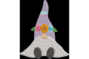 Spring Gnome Fairy Tales Embroidery Design By Wingsical Whims Designs