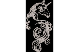 Unicorn Fairy Tales Embroidery Design By Wingsical Whims Designs