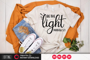Print on Demand: Be the Light Svg Graphic Crafts By PrintableSvg