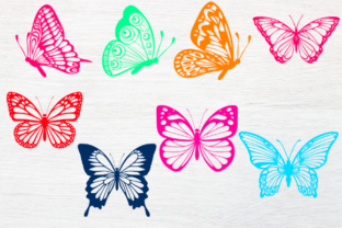 Print on Demand: Butterfly Svg, Butterfly Svg Bundle Graphic Illustrations By rayan