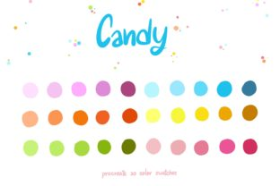 Candy Graphic Add-ons By Wanida Toffy