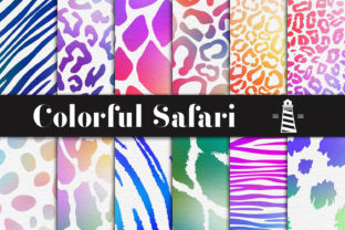 Print on Demand: Color Explosion Overlays Graphic Patterns By northseastudio