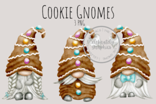 Cookie Gingerbread Gnome Clipart Grafik Illustrationen von Celebrately Graphics