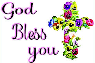 God Bless You!sublimation Graphics, PNG Graphic Graphic Templates By AlaBala