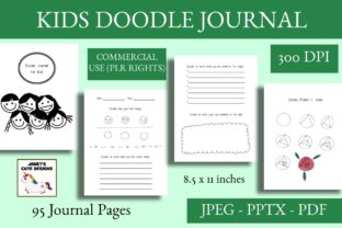 Print on Demand: Kids Doodle Journal Graphic Teaching Materials By Janet's Cute Designs