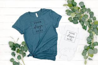 Mommy and Me Shirt Mothers Day Graphic Product Mockups By SlyDesignStudio