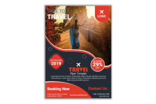 Tour Travel Flyer Design Template Graphic Print Templates By TEAM XIVECT