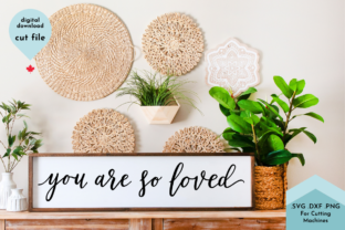 Print on Demand: You Are Loved-Nursery Hand Lettered SVG Graphic Crafts By Lettershapes