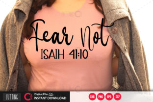 Print on Demand: Fear Not Svg Graphic Crafts By PrintableSvg