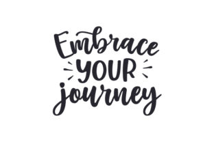 Embrace Your Journey Awareness Craft Cut File By Creative Fabrica Crafts