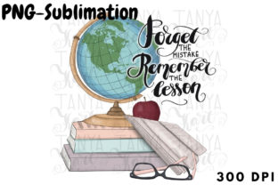 Back to School Sublimation PNG Graphic Illustrations By Tanya Kart