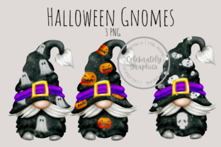 Halloween Gnome Clipart  Graphic Illustrations By Celebrately Graphics