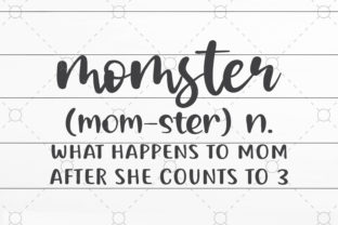 Momster Svg Graphic Print Templates By NKArtStudio