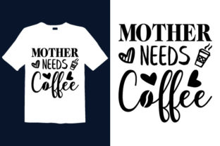 Print on Demand: Mother's Day T-shirt Design 017 Graphic Print Templates By graphicdabir