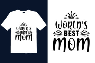 Print on Demand: Mother's Day T-shirt Design 019 Graphic Print Templates By graphicdabir