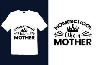 Print on Demand: Mother's Day T-shirt Design 021 Graphic Print Templates By graphicdabir