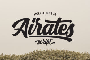 Print on Demand: Airates Script & Handwritten Font By maculinc