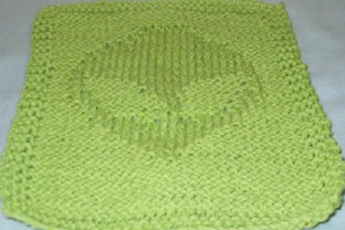 Print on Demand: Alien Knit Dishcloth or Afghan Pattern Grafik Stricken von Heather Wiegel