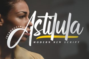 Print on Demand: Astilula Script & Handwritten Font By Vunira