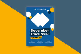 Creative Travel Flyer Design Graphic Print Templates By gdriaz3
