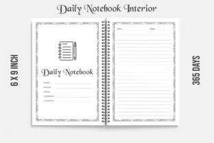 Daily Planner Kdp Interior 365 DAYS Graphic KDP Interiors By KDP OUTFIT