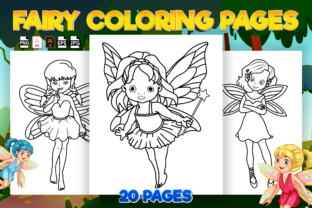 Print on Demand: Fairy Coloring Pages for Kids Graphic Coloring Pages & Books Kids By Kristy Coloring