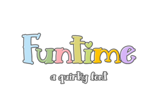 Print on Demand: Funtime Display Font By RT Studio