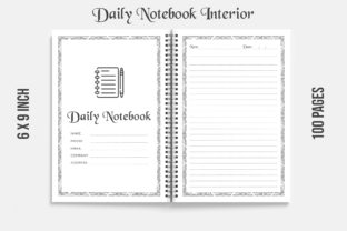 Kdp Interior Notebook Journal 100 Pages Graphic KDP Interiors By KDP OUTFIT