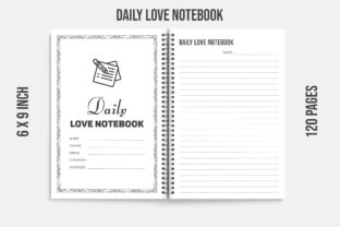 Love Journal Notebook Kdp Interior 120 Graphic KDP Interiors By KDP OUTFIT