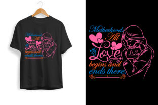 Mother Day and Mom T Shirt Design 103 Graphic Print Templates By tshirtgive
