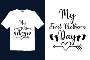 Print on Demand: Mother's Day T-shirt Design 027 Graphic Print Templates By graphicdabir