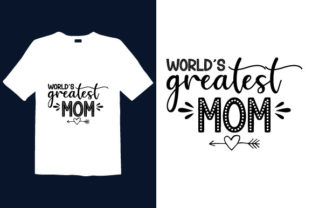 Print on Demand: Mother's Day T-shirt Design 034 Graphic Print Templates By graphicdabir