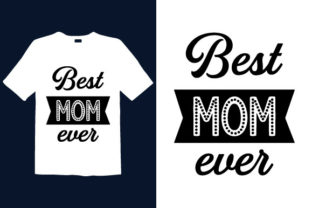 Print on Demand: Mother's Day T-shirt Design 038 Graphic Print Templates By graphicdabir
