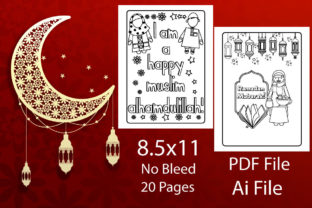Ramadan Coloring Pages | Kdp Interior Graphic KDP Interiors By shovonsarker332