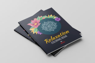 Relaxation Coloring Book for Adults Gráfico Libros para colorear - Adultos Por AR Xihad