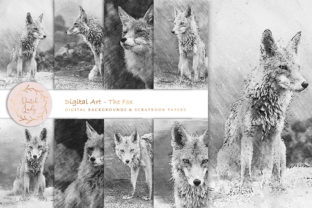 Print on Demand: Digital Drawings - the Fox Graphic Illustrations By daphnepopuliers