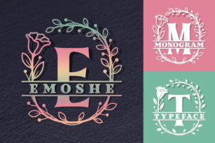 Print on Demand: Emoshe Decorative Font By Situjuh