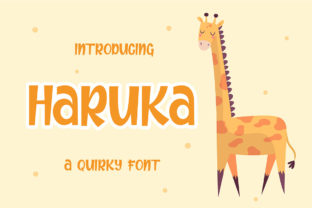 Print on Demand: Haruka Display Font By Authentic Studio