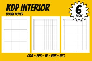 Print on Demand: KDP Interior Blank Space Best Template Graphic KDP Interiors By edywiyonopp