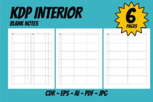 Print on Demand: KDP Interior Blank Space Great Template Graphic KDP Interiors By edywiyonopp