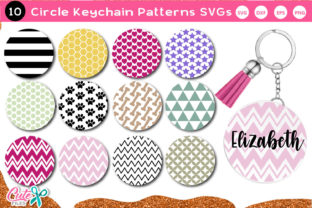 Keychain Pattern Vol.3 SVG File Graphic Crafts By Cute files