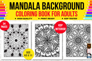 Mandala Coloring Book for Adults Graphic Coloring Pages & Books Adults By KDP Empire