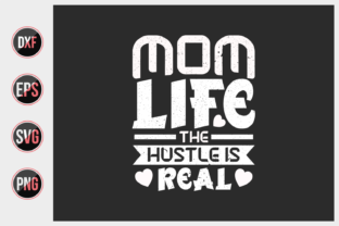 Print on Demand: Mom T Shirts Design Vector Graphic. Graphic Print Templates By ajgortee